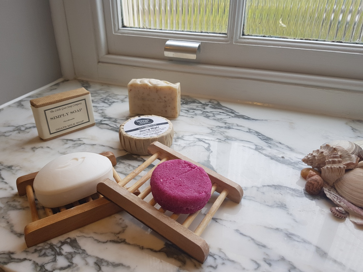 Bar soaps - plastic free and pretty! But do they work?